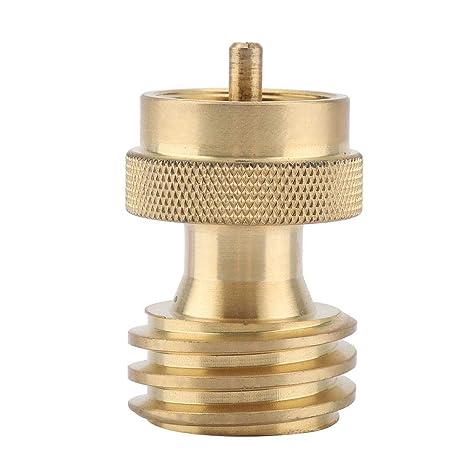 Conector del Cilindro De Gas Propano Recambios Estufa Adaptadores Rosca Externa Pulgadas Convertidor De Conversión De