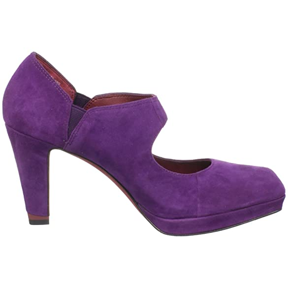 Amazon.com | Oh! Shoes Women's Tori Mary Jane Pump, Deep Purple ...