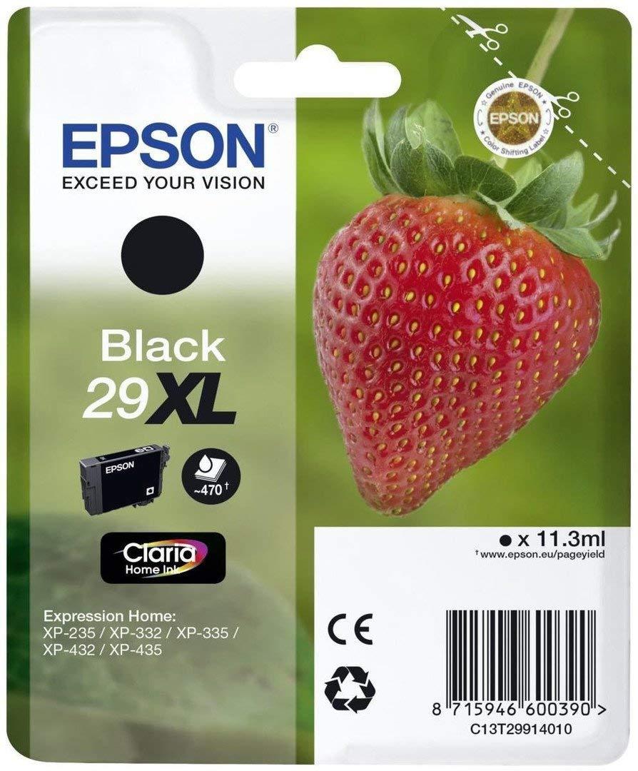 Amazon.com: Epson C13T29914022 (29XL) Cartucho de tinta ...