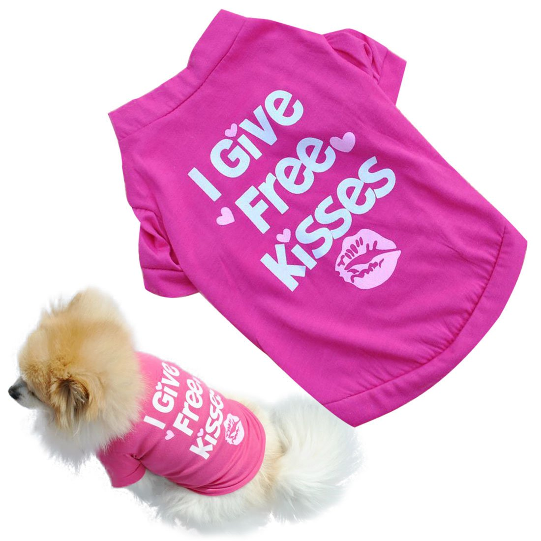 Binmer Fashion Pet Dog Clothes Cat Puppy Pet Puppy Spring Summer Shirt Small