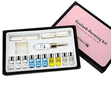 Amazon pinkzio premium eyelash perm kit full eyelash lift kit pinkzio premium eyelash perm kit full eyelash lift kit for professional use 15 in 1 solutioingenieria Choice Image