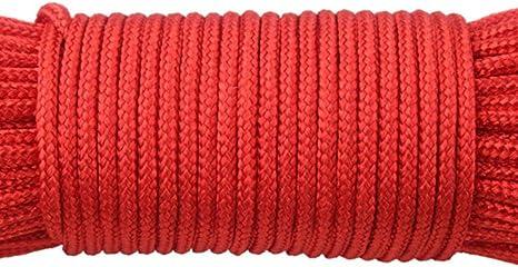 LLAAIT 110 Colores 2mm un Soporte Núcleos 50M Paracord para ...
