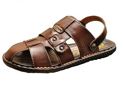 ICEGREY Amazon Herren Outdoor Sandaletten Sport Leder Sandalen  Amazon ICEGREY  ... 8f5473