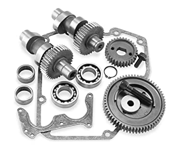 S&S Cycle 509G Gear Drive Touring Cam Kit Compatible for Harley-Davidson  Twin Cam 99-06