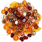 Harvest Mix Marbles with Pumpkins, Leaves, and