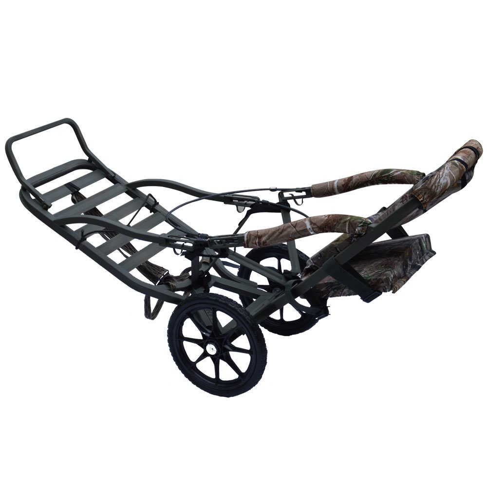 Sherpa Summit Tree Stand Model Hunting Game Carts by Sherpa Hunting Game Carts