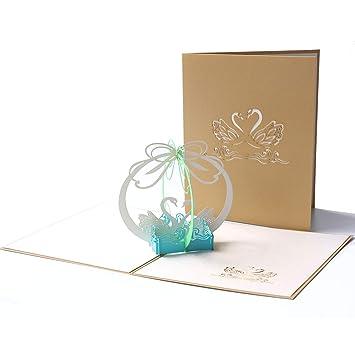 Amazon.com: PaperSpiritz - Tarjeta de cumpleaños desplegable ...