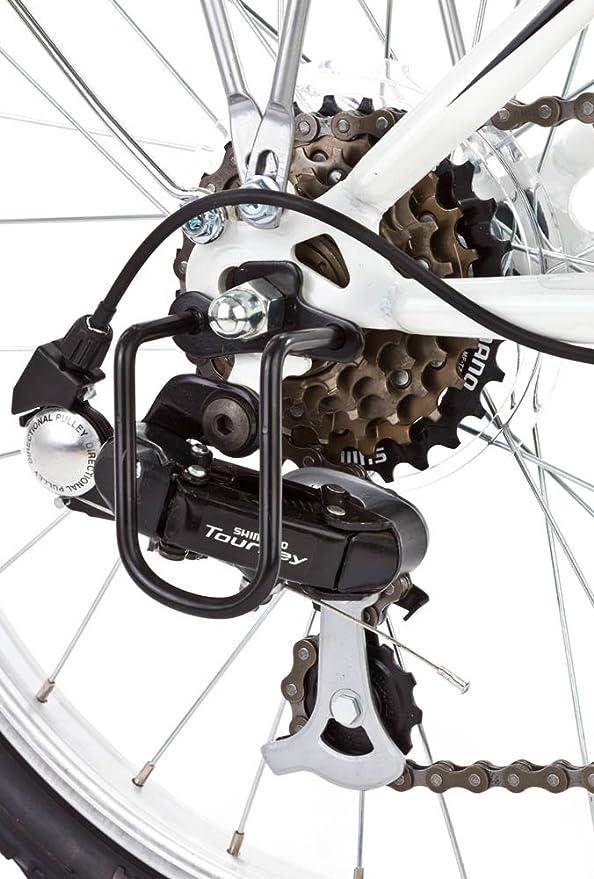 Bicicleta Plegable DHS Folding 2.0 (6 velocidades y ruedas de 20 pulgadas): Amazon.es: Deportes y aire libre