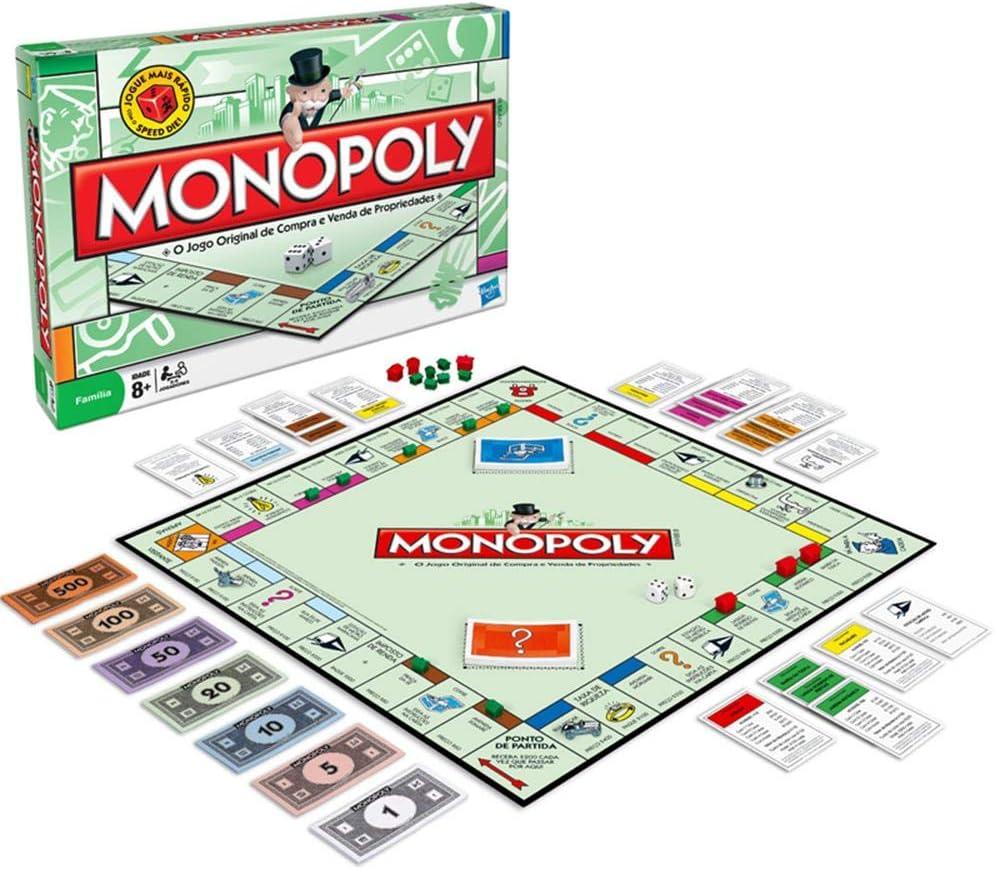 Hasbro Monopoly [versión en inglés]: Amazon.es: Juguetes y juegos