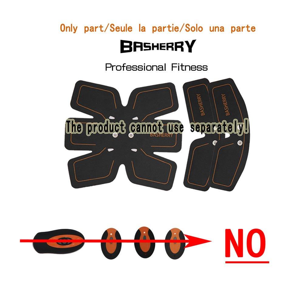 BASHERRY Tónico Muscular Abdominal Body Toning Entrenamiento de Fitness Entrenamiento ABS Fit