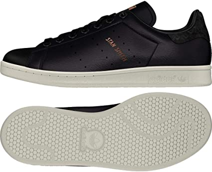 adidas Stan Smith W Chaussures de Fitness Femme, Noir Negbas ...