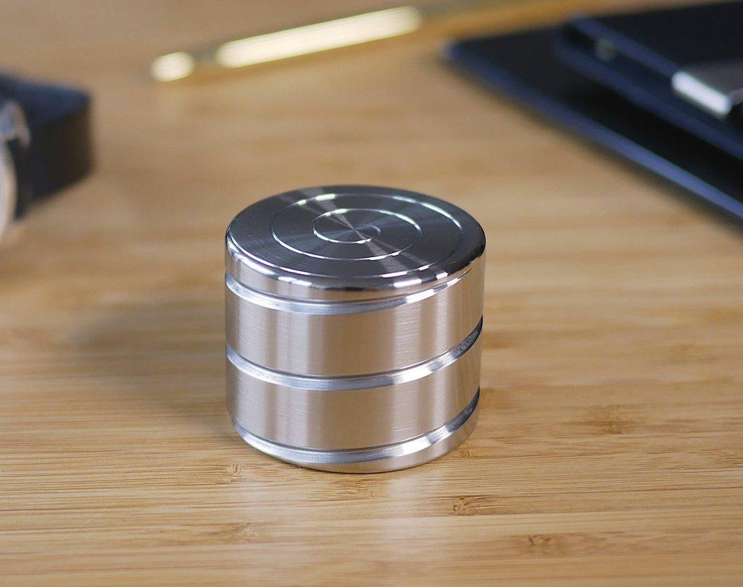 Aluminium Gold 210g*54MM Mcdodo de Kinetic Schreibtisch Spielzeug VORTECON Office Executive Gadgets Metallkugel mit optischer T/äuschung f/ür Erwachsene Kinder Anti-Angst ADHS Stress abbauen