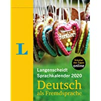 Langenscheidt Sprachkalender 2020 Deutsch - German 2020 Day-to-day Calendar