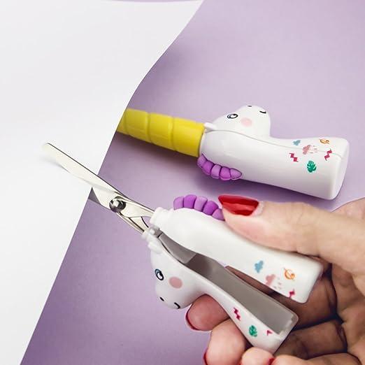 Amazon.com: Tijeras de corte de papel para estudiantes ...