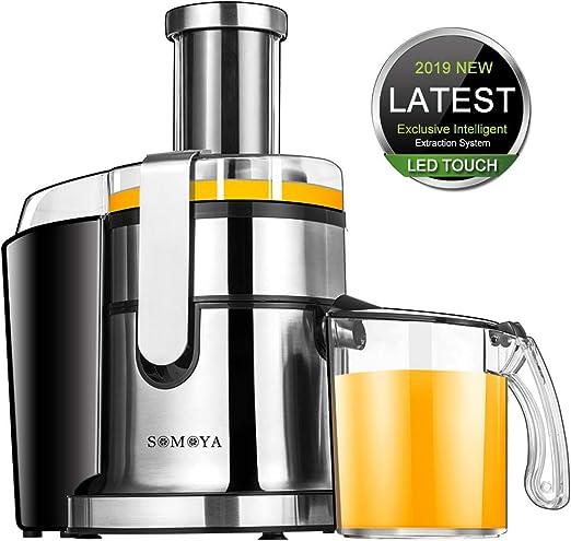 Amazon.com: Máquina exprimidora eléctrica SOMOYA ...