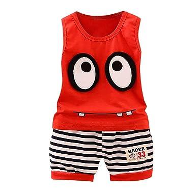 Amazon.com: Baby boy Clothes,Summer Baby Boy Girl PP Striped ...