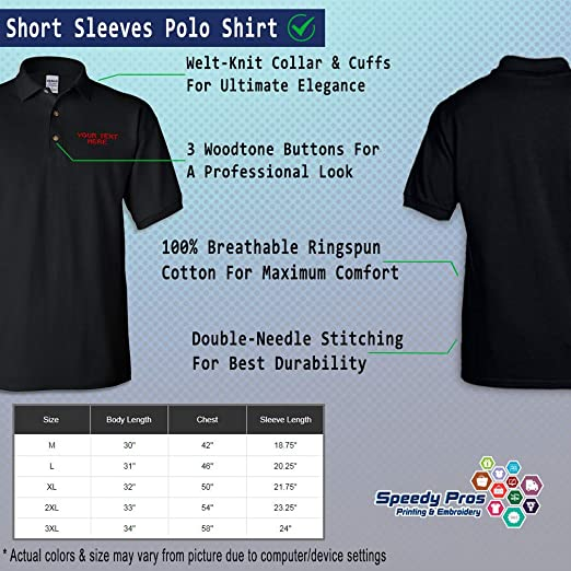 Sebaby Mens Fine Cotton Short Sleeve Tee Embroidery Baseball Polo Shirt