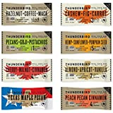 Thunderbird Paleo and Vegan Real Food Energy Bars - Sampler Pack - Box of 8 - No Added Sugar, Grain and Gluten Free, Whole 30, Non-GMO