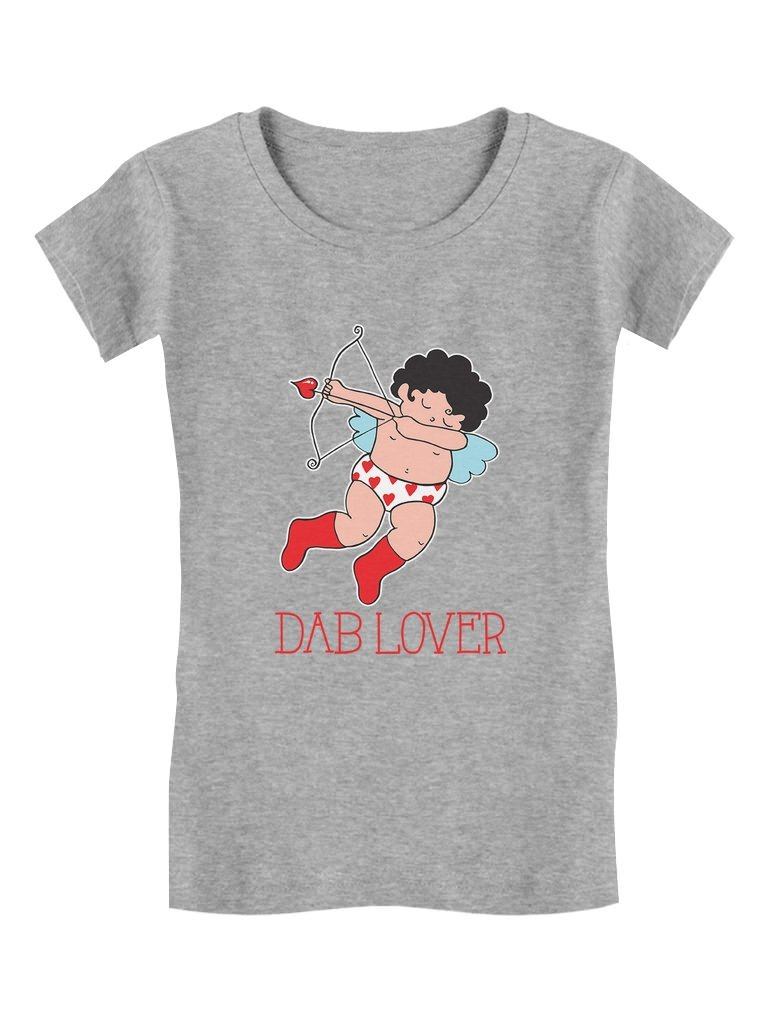 Tstars Valentines Day Cupid Dab Lover Cute Toddler//Kids Long Sleeve T-Shirt
