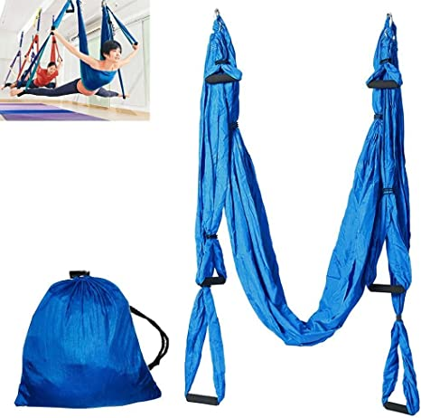Amazon.com: Homgrace Aerial Yoga Swing, Ultra Strong ...