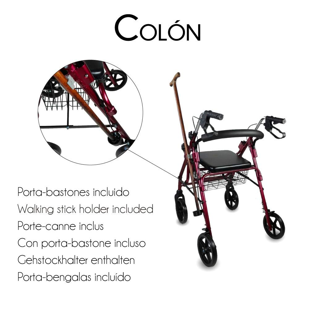 Mobiclinic, Modelo Colón, Andador para minusvalidos, ancianos ...