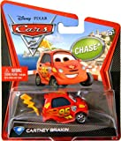 2012 DISNEY PIXAR MOVIE CARS 2 #40 CARTNEY BRAKIN CHASE CAR