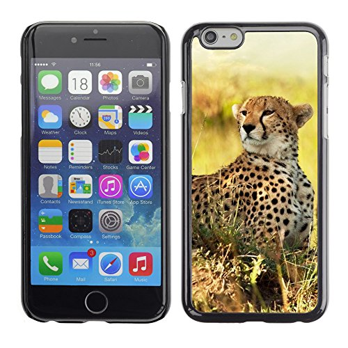 Premio Sottile Slim Cassa Custodia Case Cover Shell // V00003137 guépard 5 // Apple iPhone 6 6S 6G 4.7""