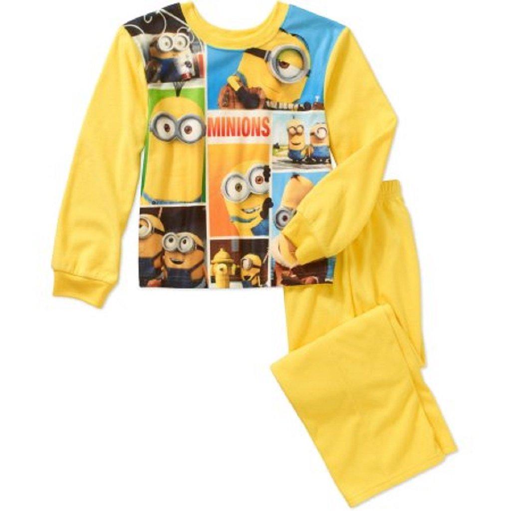 Despicable Me Minions Boys 2pc Long Sleeve Cotton Pajamas
