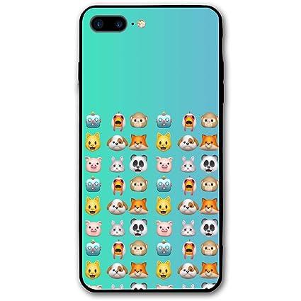 Amazon com: IPhone 8 Plus Case, IPhone 7 Plus Case,Animoji