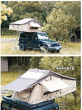 Tienda de campaña, automática, para techo de coche, color beige, tamaño 310*170*130cm: Amazon.es: Deportes y aire libre