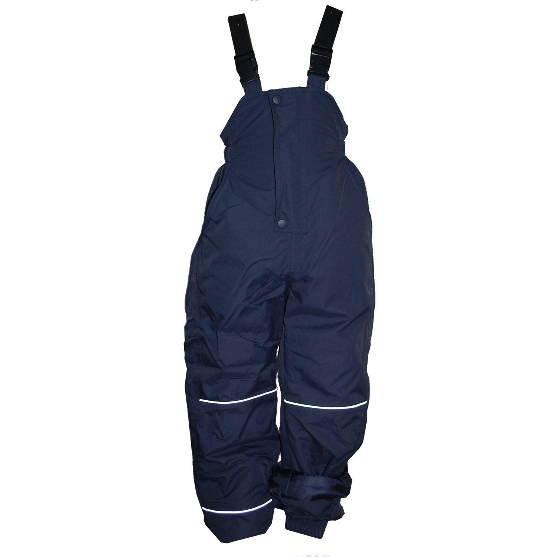 Outburst - Outburst Girls Ski pants Snow pants Fleece lining Waterproofing 10,000 mm Water column, dark blue - 4860855