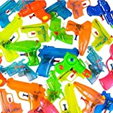 Squirt Guns Party Favors - Bulk Summer Pool Party Pack Water Squirting Guns (Pack of 24) Assorted Most Popular Water Squirt Guns