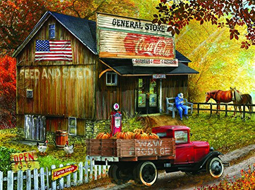 SunsOut Seed and Feed General Store 300 Piece Jigsaw Puzzle