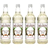 Monin - Pure Cane Syrup, Pure and Sweet, Great for Coffee, Tea, and Specialty Cocktails, Gluten-Free, Vegan, Non-GMO…