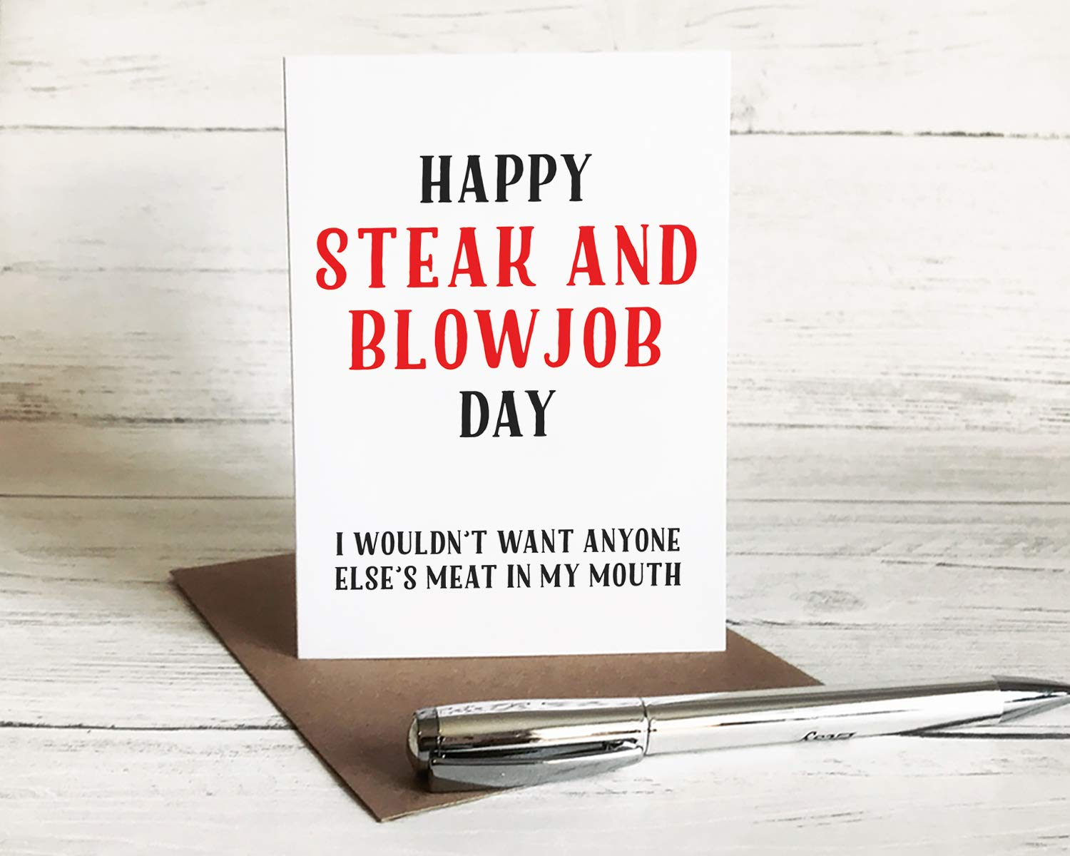 what date is steak and blowjob day