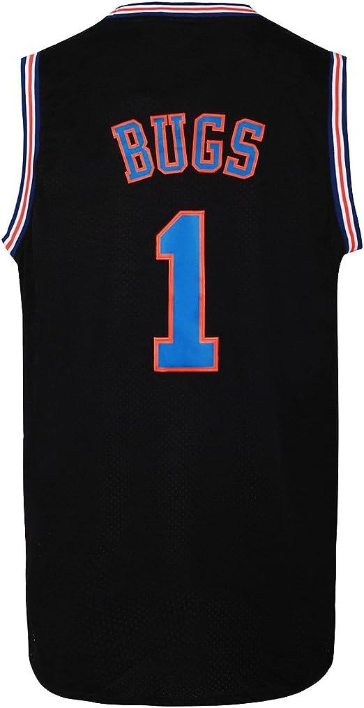 Amazon.com: JOLI SPORT Bugs 1 Space - Camiseta de baloncesto ...