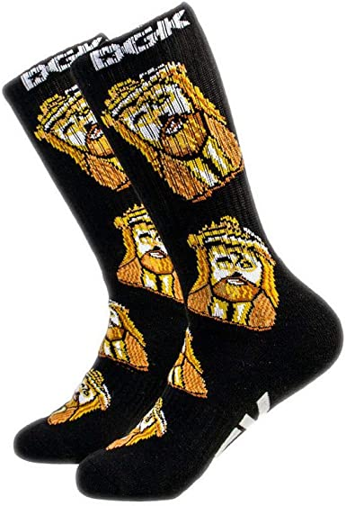 Amazon.com: DGK Jesus Piece Crew Calcetines – Negro: Clothing