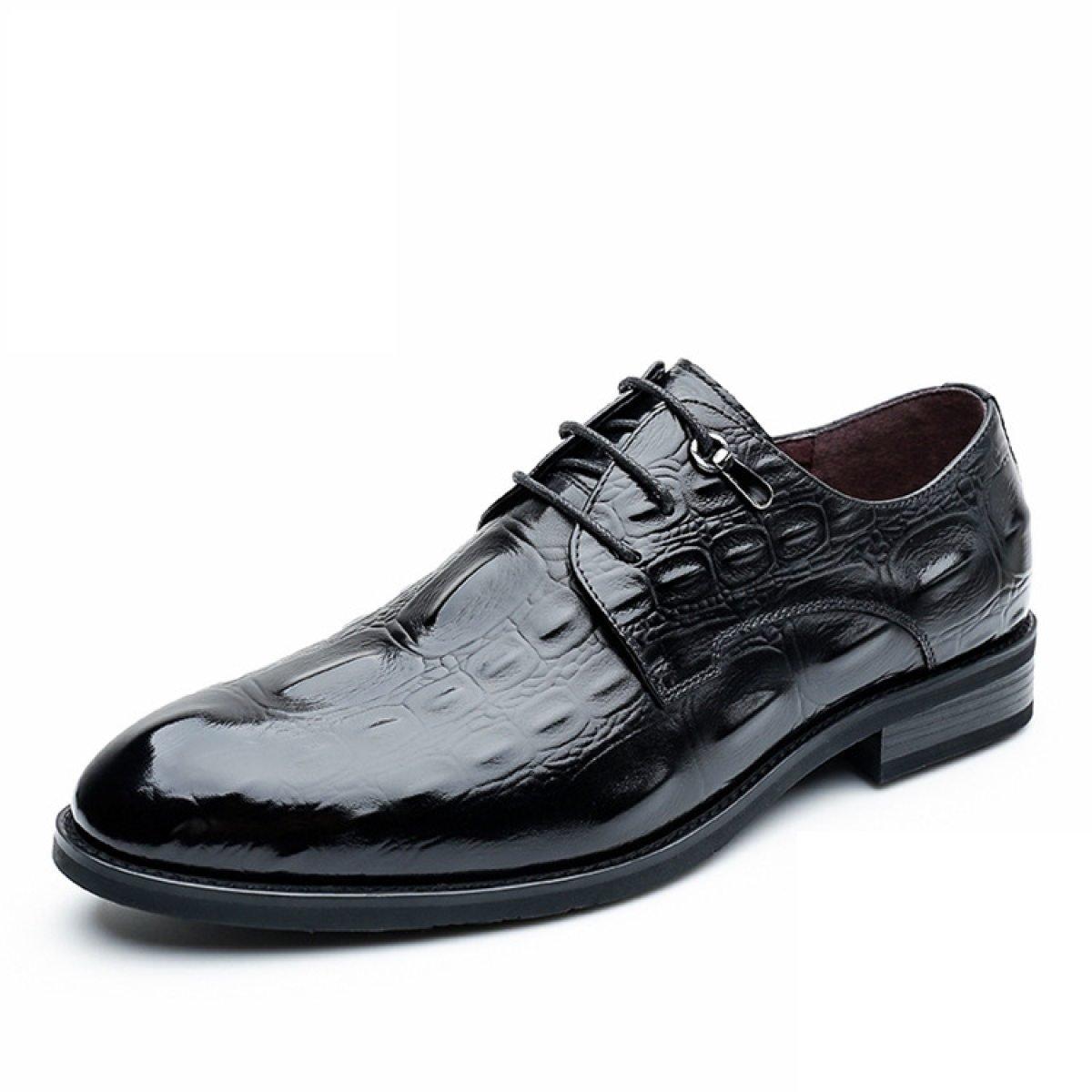 NBWE Herren Crocodile Echtes Leder Schuhe Geschäft Kleid Schuhe Bräutigam Hochzeitsschuhe