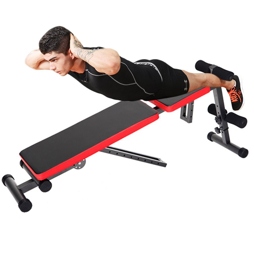 Binghotfireuk - Bañador multipliegue para entrenamiento de pesas, gimnasio, hombro, pecho, barra de levantamiento para fitness, entrenamiento de cuerpo ...