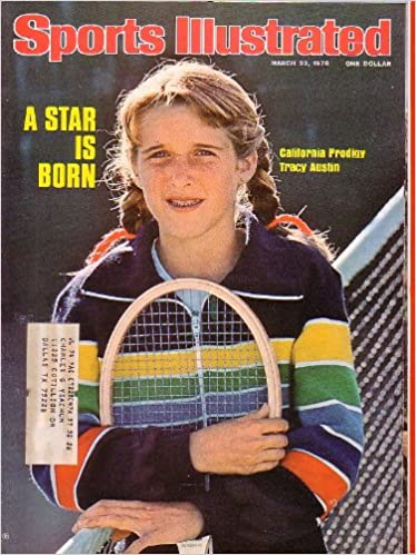 Sports Illustrated Magazine A Star Is Born Tracy Austin California Prodigy March 22 1976 Sports Illustrated Amazon Com Books