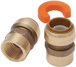 "Shark Bite 22604LF 1/2"" SharkBite Low Lead Water Heater Installation Kit"