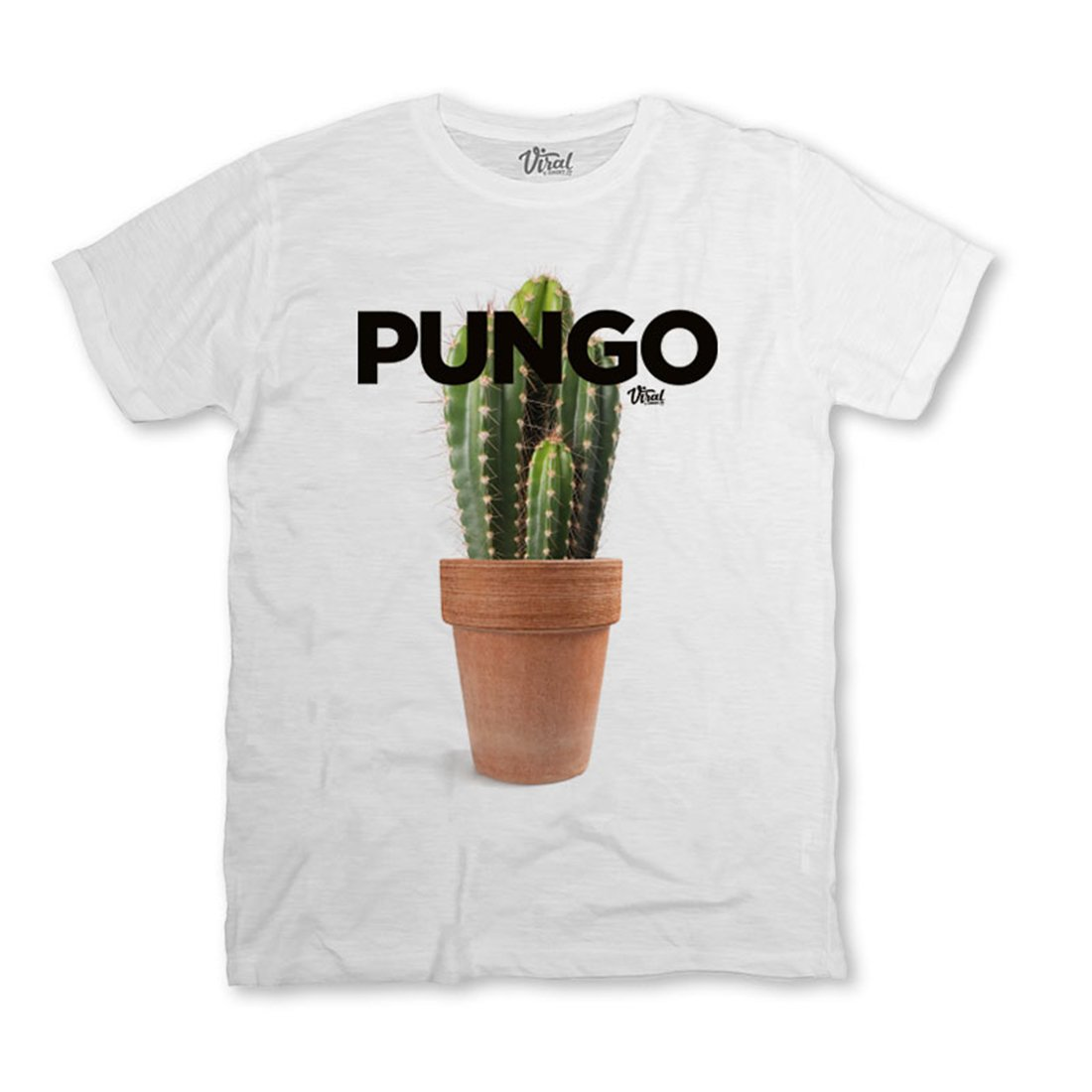 Viral T Shirt Pungo Cactus Piante Grasse Insopportabile