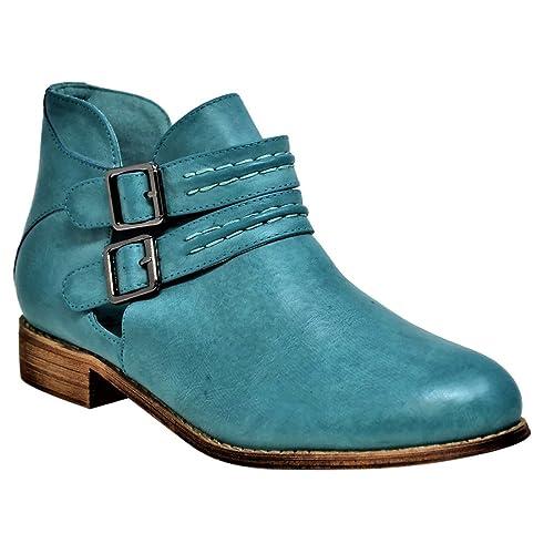30368620de Mata Shoes - Stivaletti donna , verde (Green), 40.5 EU: Amazon.it ...