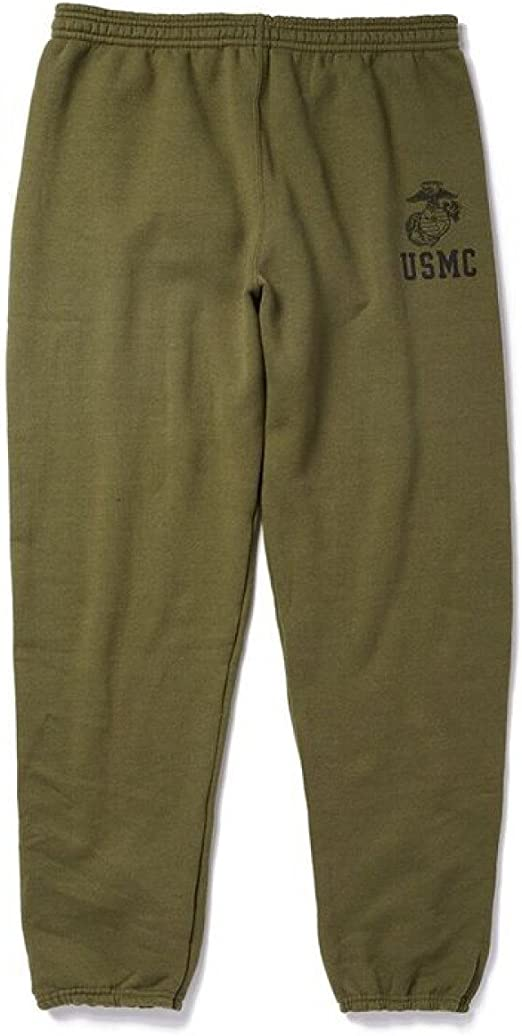 Soffe Authentic USMC Fleece Sweatshirt with EGA USA Made All Sizes New