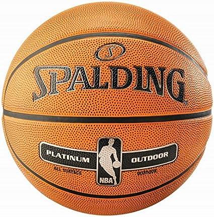 Spalding NBA Platinum Outdoor Street – Balón de baloncesto, tamaño ...