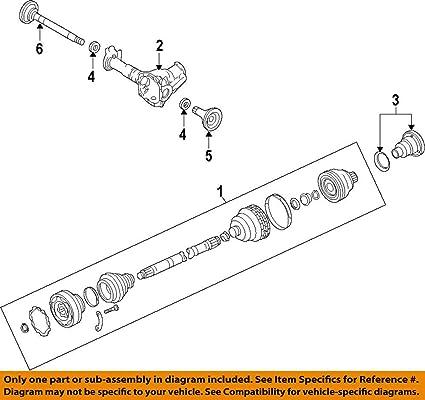Awe Inspiring Amazon Com Porsche 958 349 038 12 Cv Axle Shaft Automotive Wiring 101 Orsalhahutechinfo