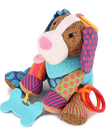 perro DDG EDMMSTraqueteo del bebé de la felpa juguete del pesebre del juguete que cuelga,