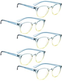 f3192265206c READING GLASSES 5 pack Fashion Readers for Women(One for each color)