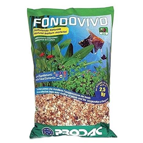 Prodac – Sustrato Natural fondovivo para Acuario – 2 ...