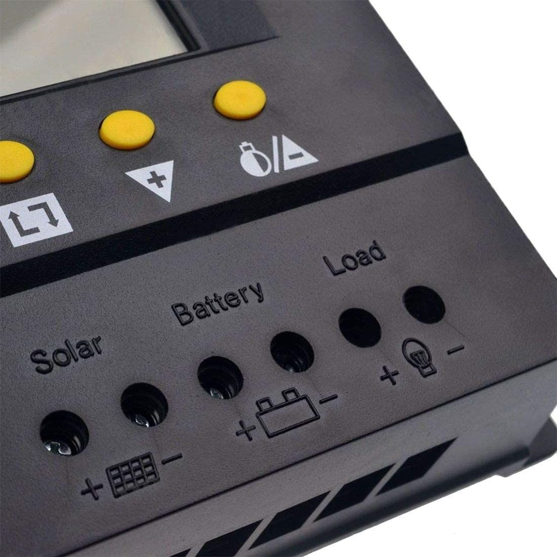 Nrpfell 80A Solar Charge Controller 12V//24VDC PWM Battery Charger Regulator 960W//1920W